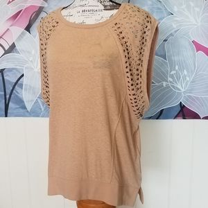 We The Free Studded Oversized Top